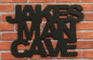 Jakes Man Cave Sign
